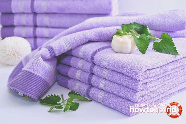 Hur man tvättar kökshanddukar