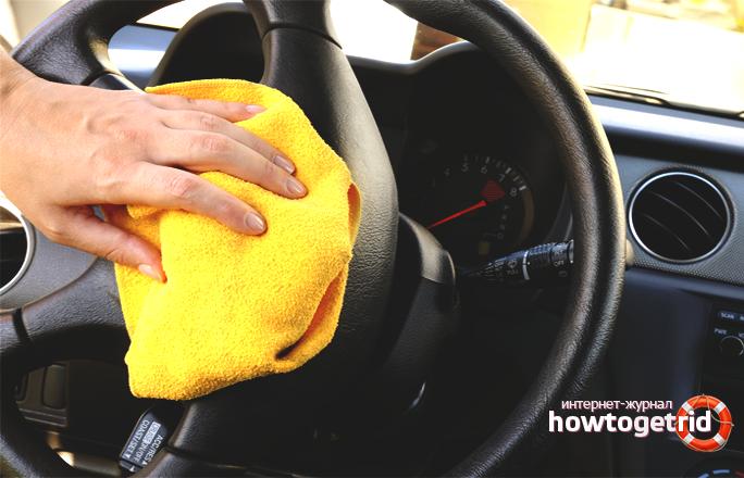 Kā tīrīt automašīnas salonu