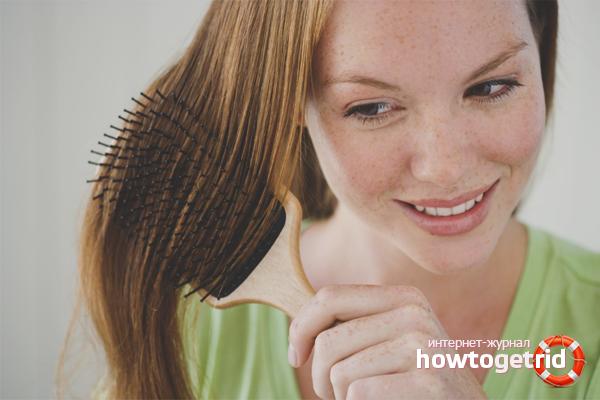 Cum să îndepărtați argila din păr