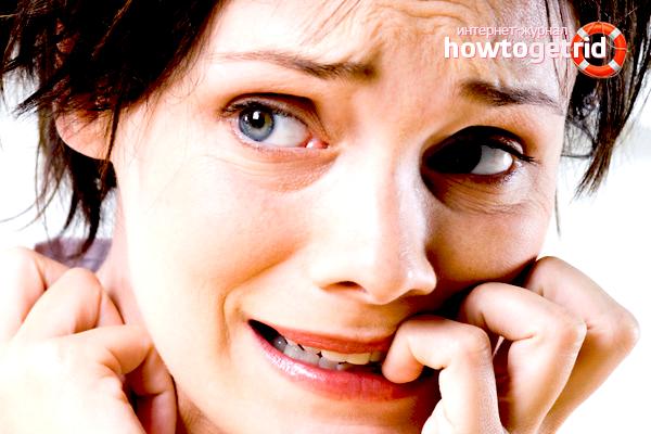 תסמינים של סוציופוביה
