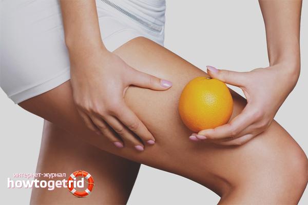 Com desfer-se de la pell de taronja