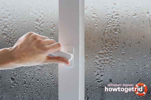 Hur man blir av med kondensatfönster