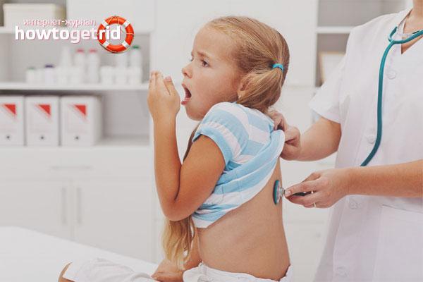 Hur man kan bli av med en stark hosta hos ett barn