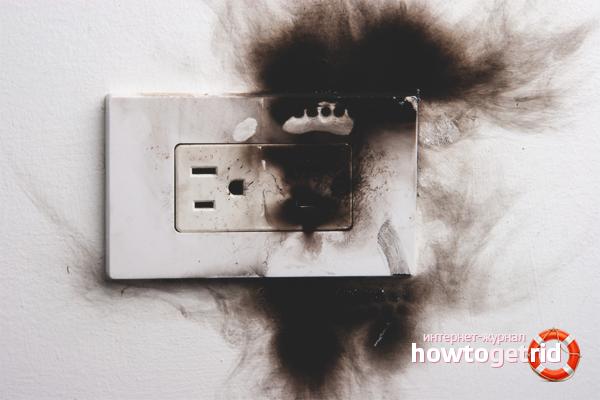 Wie man den Geruch von Brennen loswird