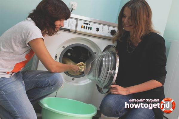 Was tun, wenn es in der Waschmaschine nach Schimmel riecht?