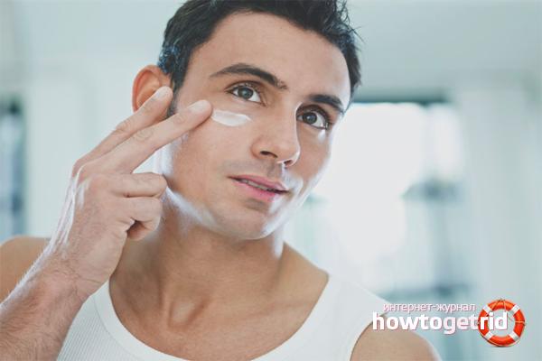 Prevenció de l'acne després de l'afait