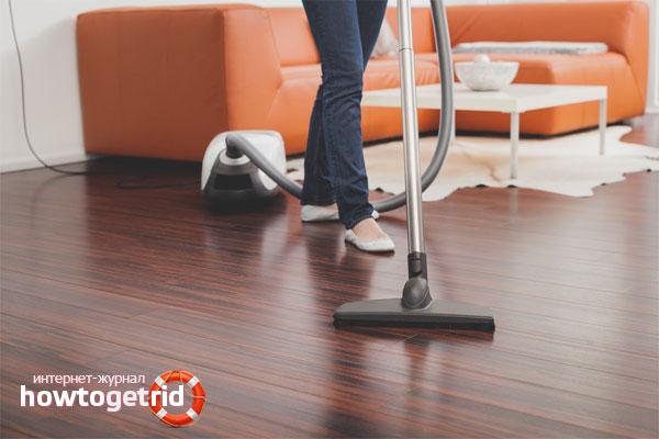 Cum curățați podelele laminate