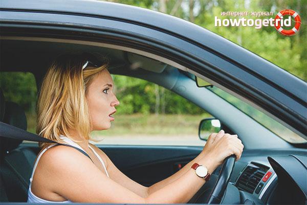 Wie man aufhört, Angst zu haben, ein Auto zu fahren