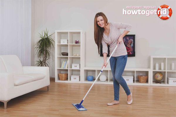 Cum curățați o podea laminată