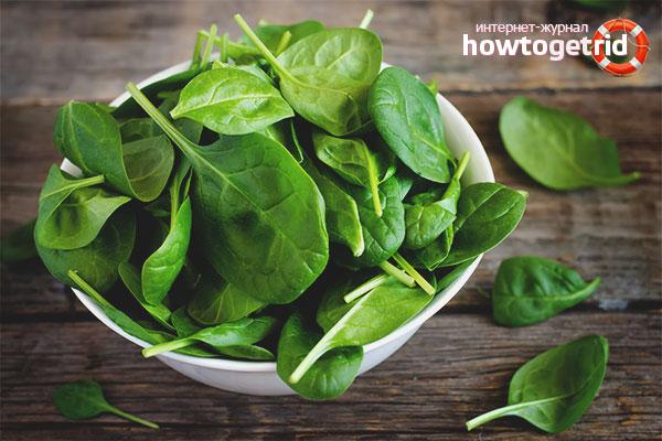 Regler for dyrkning af spinat i vindueskarmen