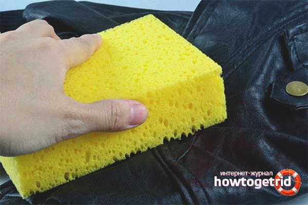 Kā atbrīvoties no ādas izstrādājumu smaržas