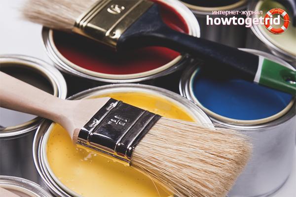 Cara menghilangkan bau cat