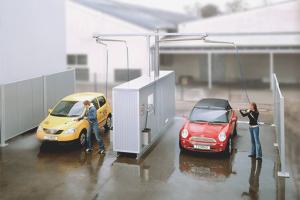 Kā mazgāt automašīnu pašapkalpošanās automazgātavā