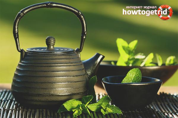 Hur man går ner i vikt med grönt te