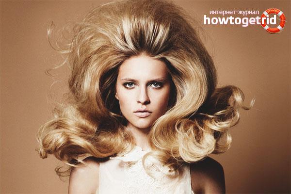 Hur man gör hår på rötterna voluminöst