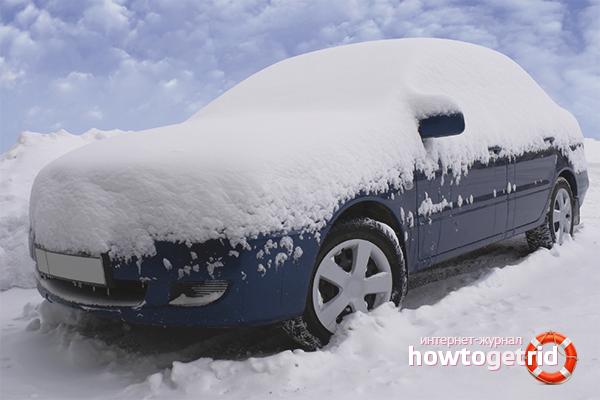 Como cuidar de um carro no inverno