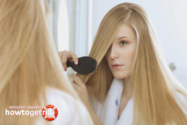 Wie man Haarverlängerungen pflegt