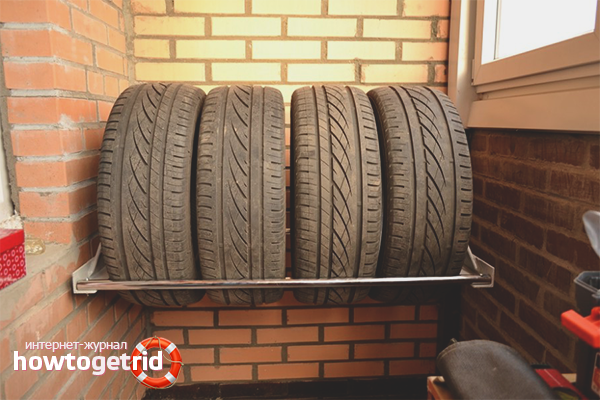 Grundlegende Regeln für die Reifenlagerung