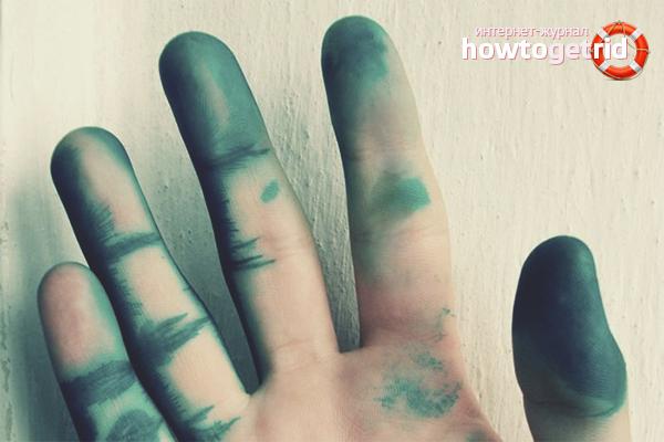 Ne spălăm pe mâini de verde