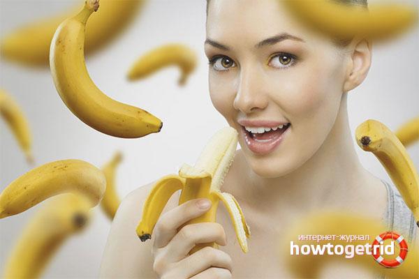 Bananernas fördelaktiga egenskaper