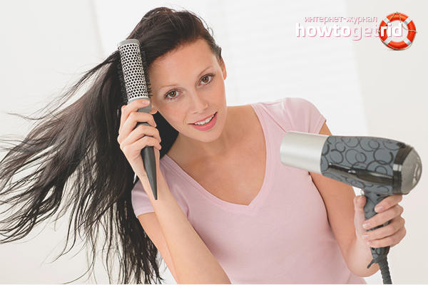 Empfehlungen zum Kämmen von Haaren