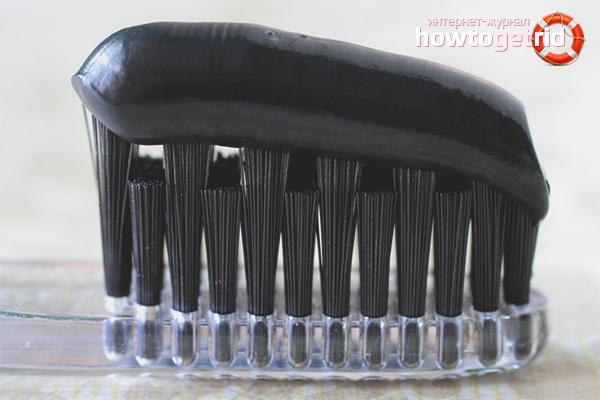 Etkili diş beyazlatma kömürü