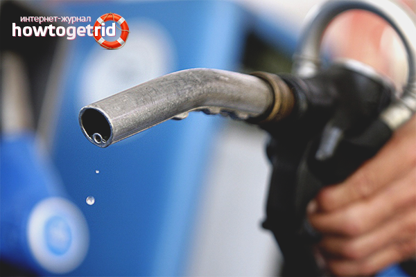 Kā atbrīvoties no benzīna smakas