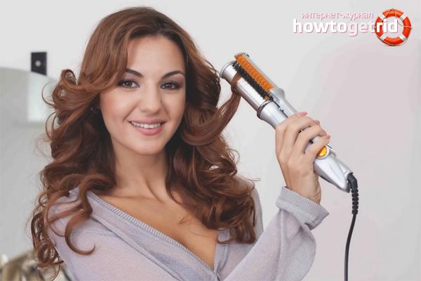 Hur du lindar håret på ett strykjärn