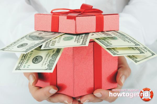 Wie man Geld für einen Geburtstag gibt