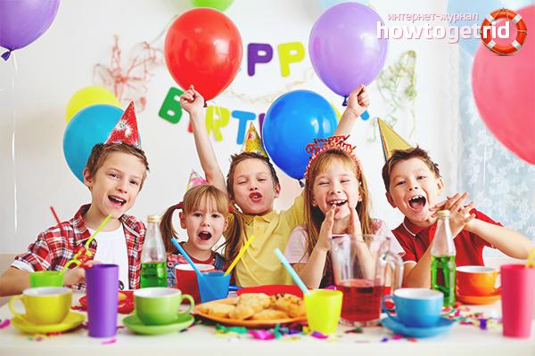 Как да се забавляваме рожден ден