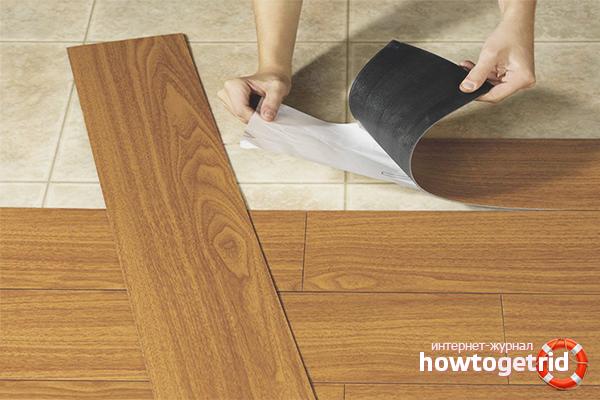 Jak zainstalować płytki podłogowe z PCV