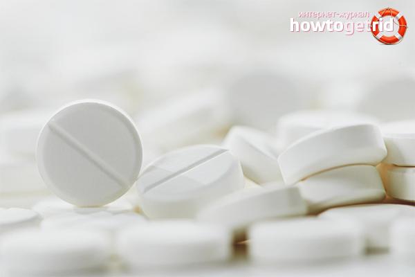Contraindicacions per prendre aspirina