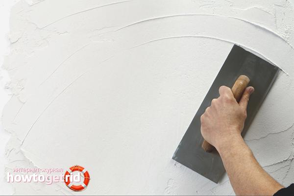 Ako pripraviť betónovú stenu na nanášanie tekutých tapiet
