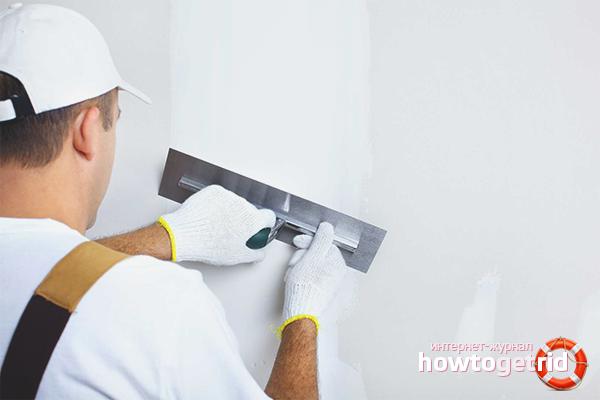 Ako sa pripraviť na sadrokartónové dekorácie stien