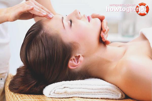 Com estrenyir la cara amb massatge