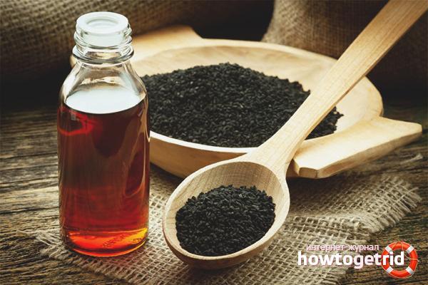 Com prendre oli de comí negre