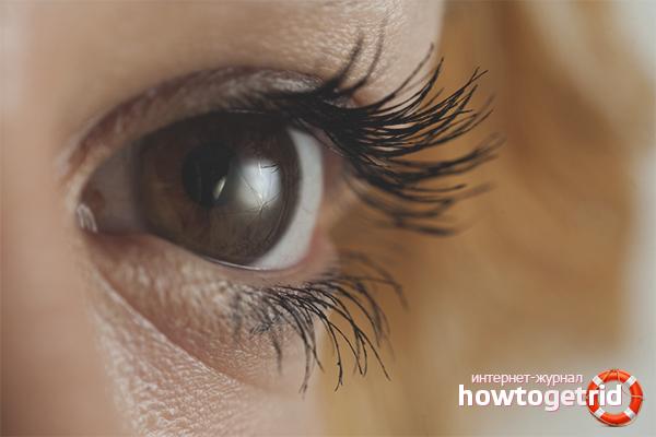 Wie man Wimpern länger und dicker macht