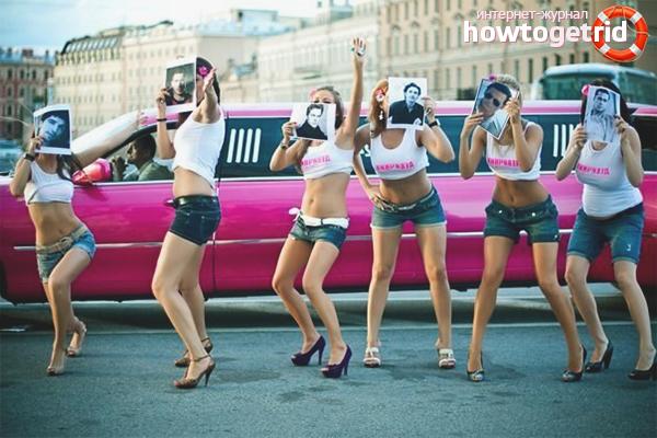 Лимузина за ергенско парти