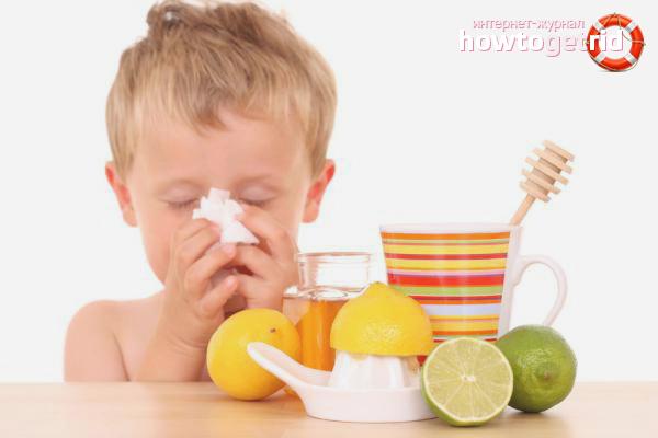 Volksheilmittel gegen eine laufende Nase