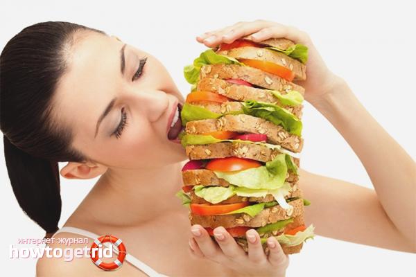 Kā atbrīvoties no bada
