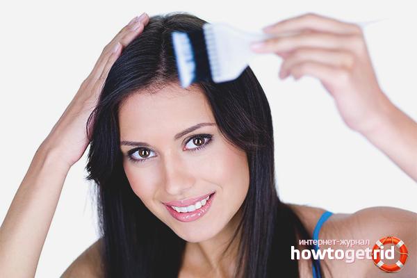 Hur man färgar håret med henna