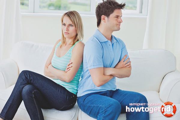 Wie man nach dem Streit Frieden mit dem Ehemann schließt