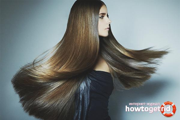 Wie man Keratin Haarglättung zu Hause macht