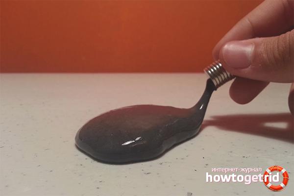 Wie man magnetischen Schleim macht
