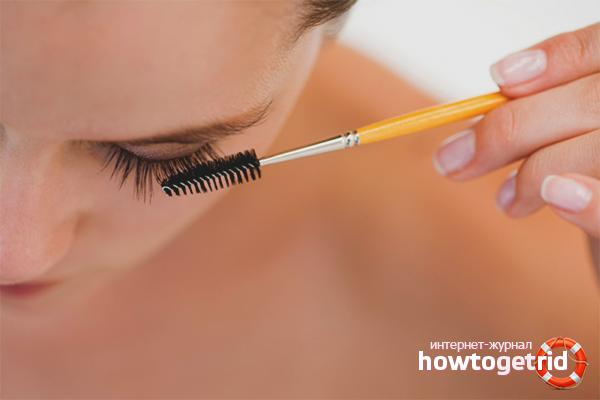 Kosmetik zur Stärkung der Wimpern