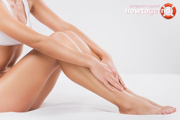 Prevenció de la irritació després de la depilació