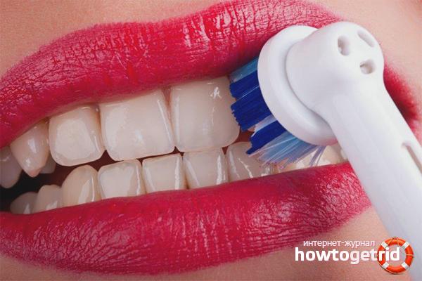 Raspallar-se les dents a la dreta