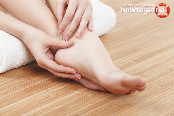 Cara cepat membuang jagung kering di kaki anda