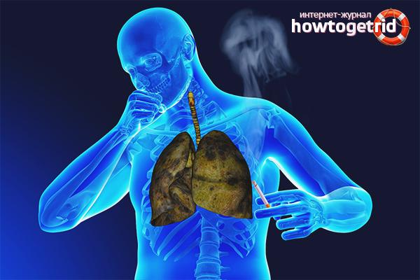 Jak wyczyścić płuca palacza