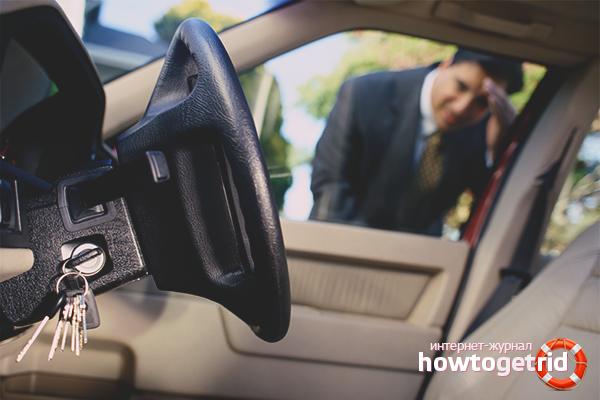 Como abrir um carro sem chave